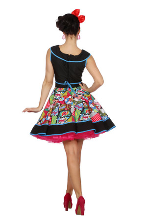 Pop-Art-Kleid – Bild 3