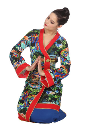 Chinesin-Kleid Dragon – Bild 2