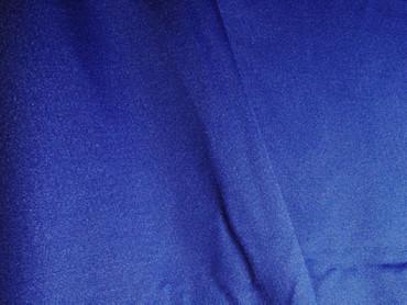 Jersey-Stretch uni royalblau
