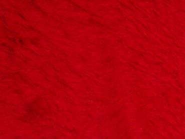 Plüsch uni rot