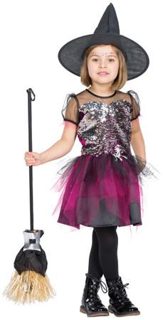 Glitterhexe Kleid – Bild 2