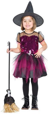 Glitterhexe Kleid – Bild 1