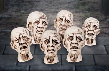 12 Zombieköpfe – Bild 2