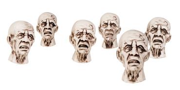 12 Zombieköpfe – Bild 1