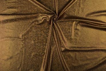Folien-Jersey 150cm braun-holo – Bild 3