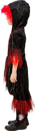 Halloweenkleid rot-schwarz – Bild 2