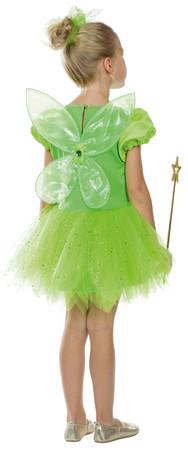 Feenprinzessin Kleid grün – Bild 2