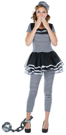 Sträflings-Kleid – Bild 1