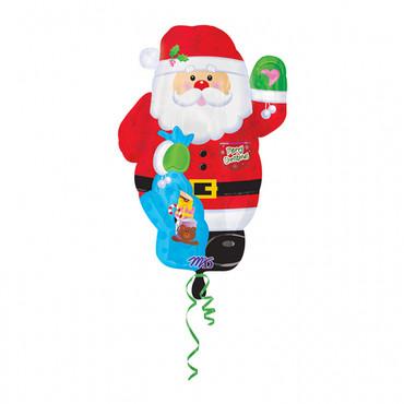 Folienballon Weihnachtsmann