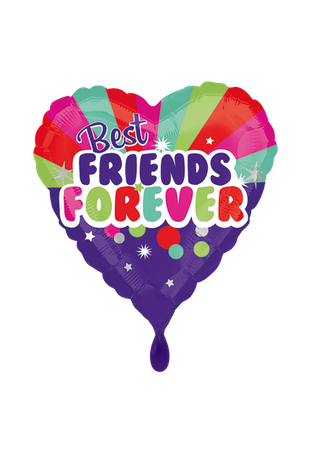 Folienballon 'Best Friends forever'