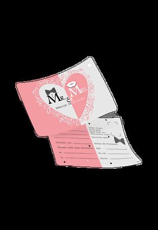 50 Ballonflugkarten Mr. & Mrs. Endlich verheiratet – Bild 1