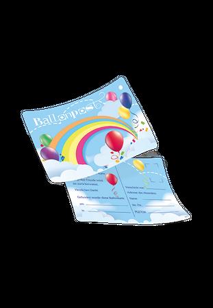 """50 Ballonflugkarten """"Ballonpost"""" – Bild 1"""
