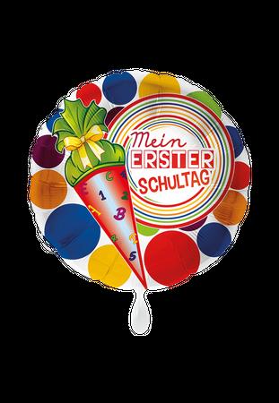 Folienballon Mein 1. Schultag
