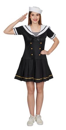 Navy-Girl-Kleid