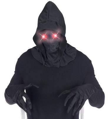 Maske mit leuchtenden Augen rot – Bild 2