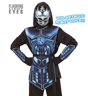 Kostüm Cyber Ninja mit Licht und Sound – Bild 1