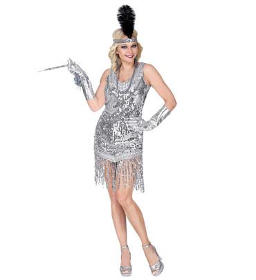 Charleston-Kleid silber – Bild 1