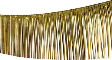 Fransengirlande gold 10mx50cm