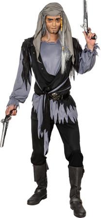 Halloween Lumpenfrack dunkelgrau