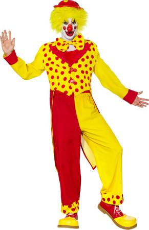 Clown rot-gelb