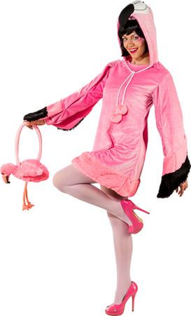 Flamingo-Kleid