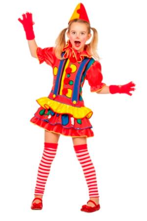 Clown Kleid Bubbles – Bild 1
