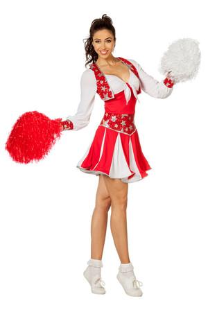 Cheerleader Luxus rot – Bild 1