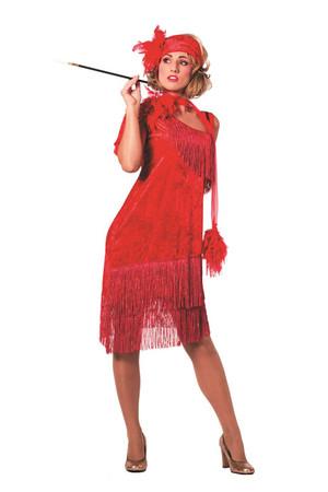 Charleston-Kleid rot