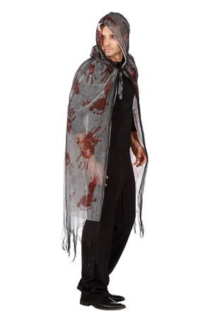 Halloween-Cape mit Blut onesize – Bild 3