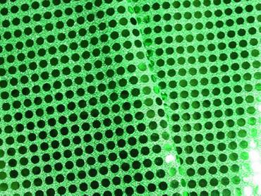 Paillettenstoff grün