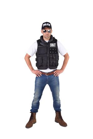 Police-Weste luxe – Bild 2