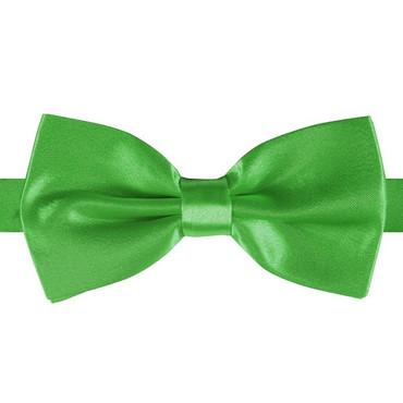 Satin-Fliege grün