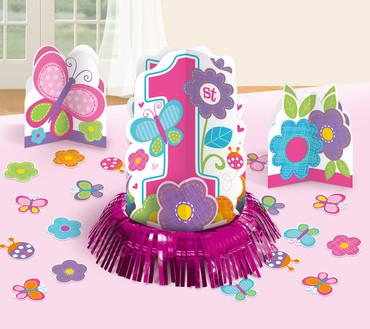 Tischdeko-Set 1. Birthday Girl