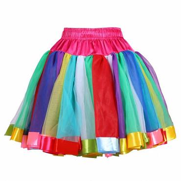 Luxus-Petticoat bunt