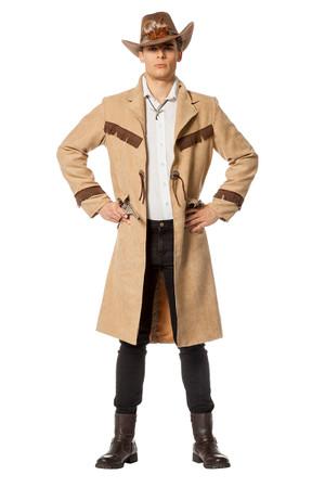 Cowboy Mantel Luxus