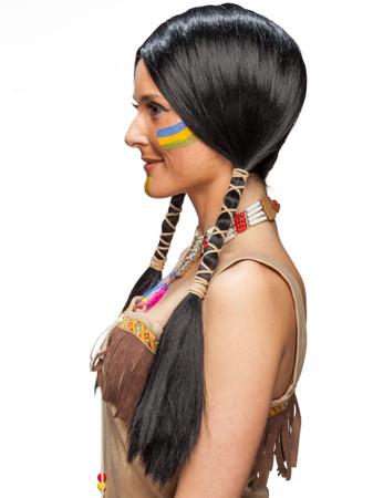 Perücke  Indianerin – Bild 2