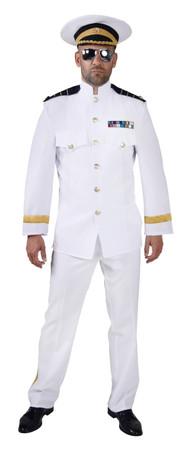 Offizier-Anzug weiss