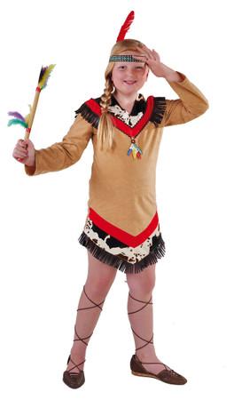 Indianerin-Kleid