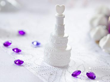 24 Seifenblasen Hochzeitstorte – Bild 2