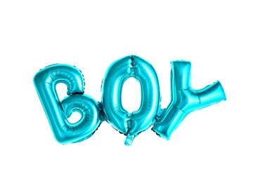 Folienschriftzug Boy blau