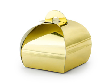 10 Geschenkboxen gold