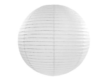 Deko-Laterne Ø 55 cm weiß