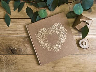 10 Geschenkboxen Kraftpapier – Bild 6