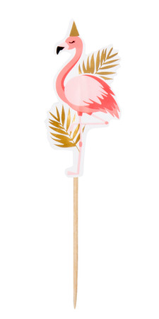 12 Cocktail-Picker Flamingo