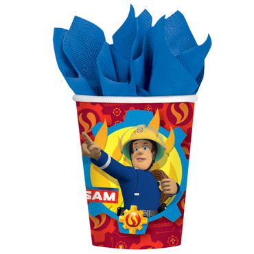 8 Becher Fireman Sam