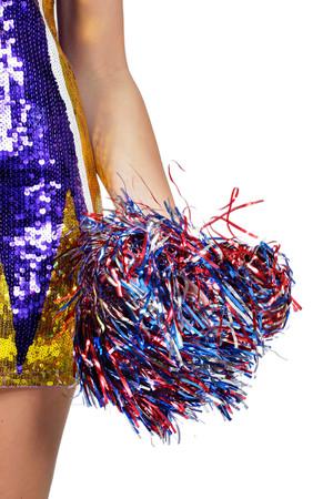 Cheerleader-Pompom Folie