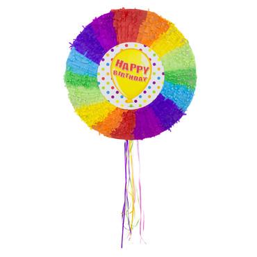 Pinata Happy Birthday regenbogen