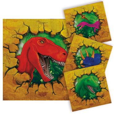 20 Servietten Dinosaurier