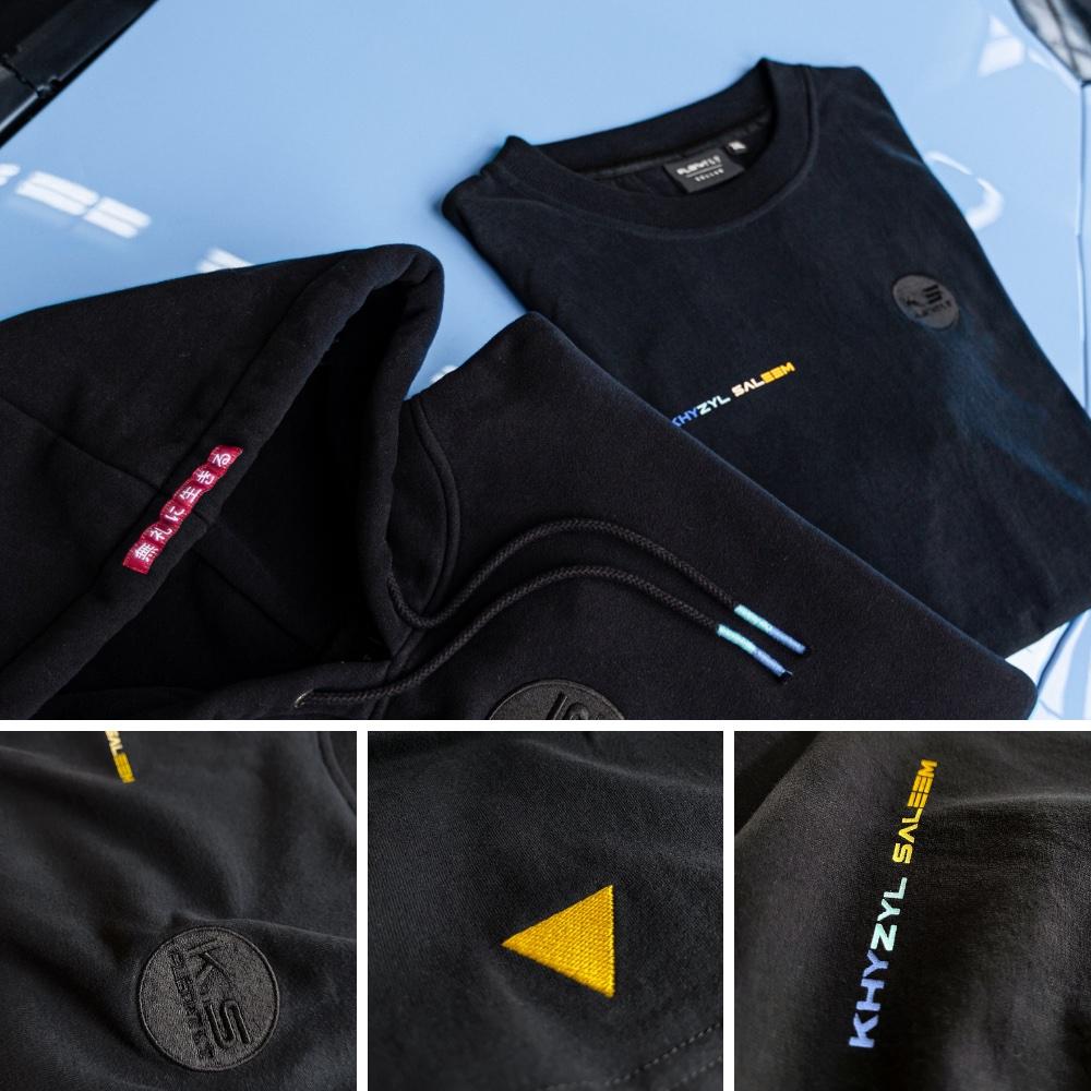 Flgntlt Khyzyl Saleem Collab 2021 K.S Hoodie T-Shirt Detailansicht
