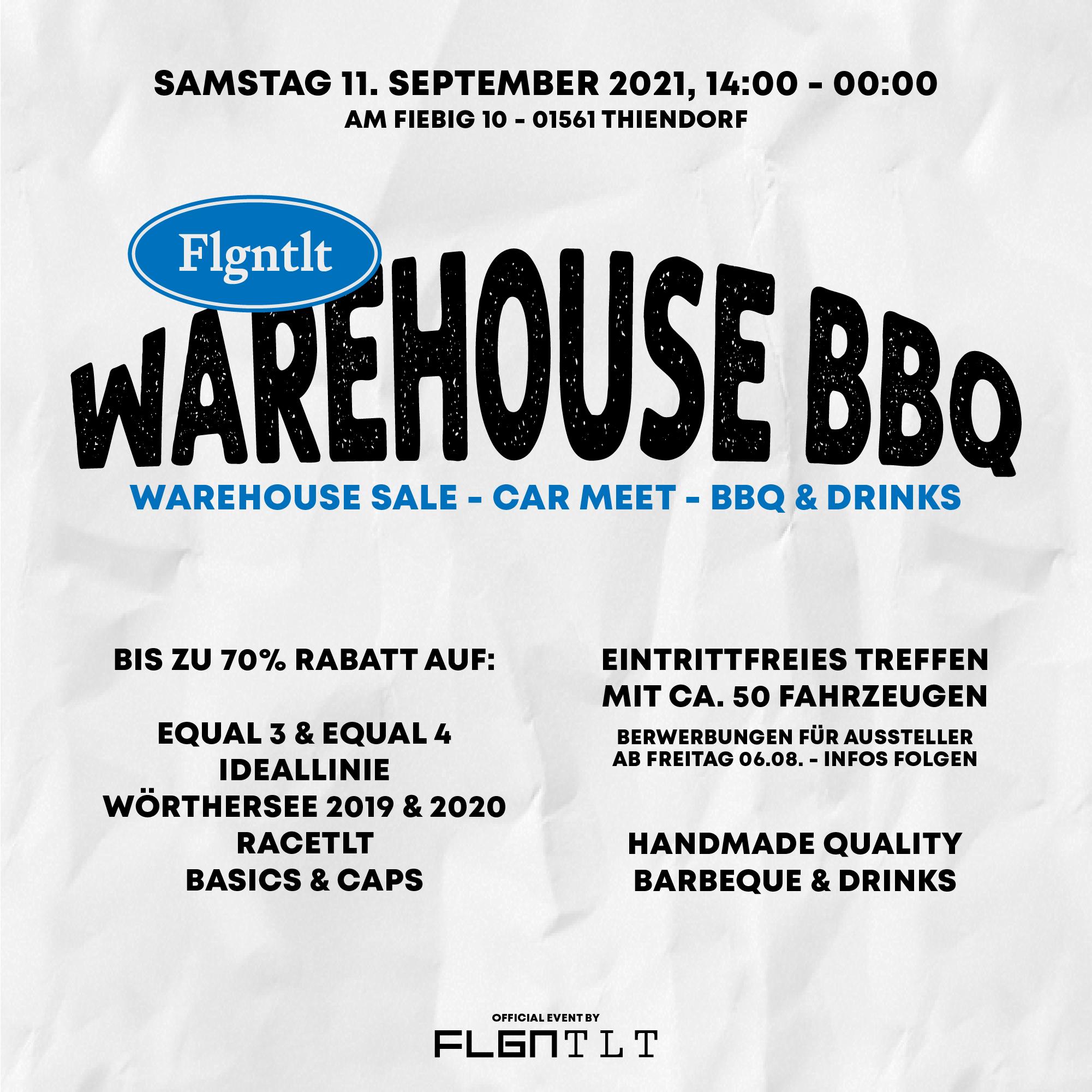 Warehouse Sale BBQ Car Meet